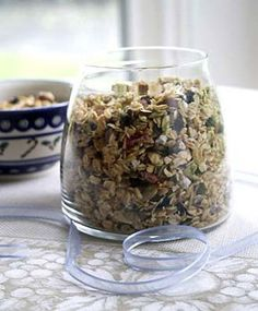 Unlike many store-bought granolas, this luxurious blend of oats, green pumpkin seeds, and exotic dried fruit is preservative-free and not overly sweet. Sprinkle it on yogurt, pancakes,…