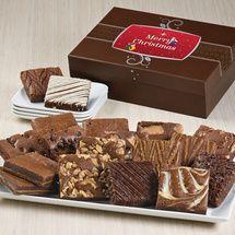 Christmas Wish Eighteen | Christmas Gourmet Brownie Gift Baskets Delivered @ftbrownies
