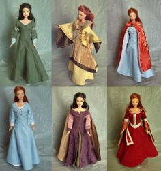 Chronicles of Narnia costumes for Barbies...I want tis but...........I would keep theme in the box