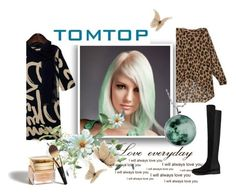 """TOMTOP II/11."" by marinadusanic ❤ liked on Polyvore featuring moda, Christian Dior e tomtop"