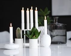 Instagram: @hvitelinjer  #interior #bylassen #kähler #whitedetails #decor #inspiration