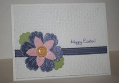 CAS163 Happy Easter by Happy2Stamp123 - Cards and Paper Crafts at Splitcoaststampers