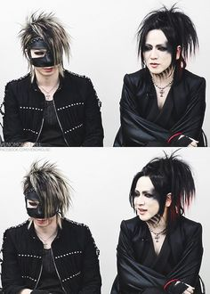 Reita and Ruki. The GazettE