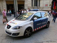 Policia - Mossos D'esquadra @ Barcelona, Spain