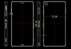 It is obvious that you will receive different and advanced variants of any flagship very soon once the original one has hit the market. To ongoing the trend, Xperia Z3 is coming quick about six months after the Z2 was released but the latest leak of the devices' CAD drawings should quickly disperse those.