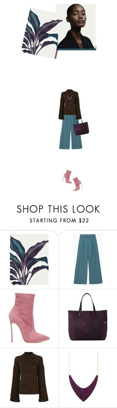 """""""i am"""" by paperdollsq ❤ liked on Polyvore featuring Max&Co., Casadei, Diesel, Pringle of Scotland, booties, tealpants, falala, Tealandbrown and mesome"""
