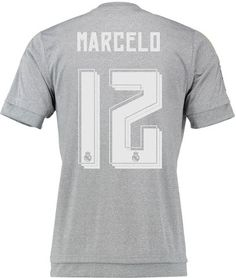 d955bb6f1 Real Madrid 15-16 Kit Font Released - Footy Headlines Football Kits