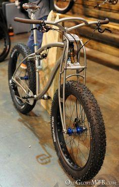 Black Sheep Titanium Full Suspension Fat Bike