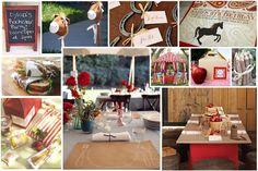 horse themed birthday party  Jayden - for Hailies next bday???