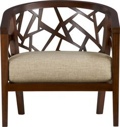Ankara Chair with Cushion in Chairs | Crate and Barrel