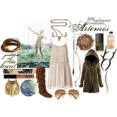 """Artemis - goddess of the hunt"" by reagangore on Polyvore"