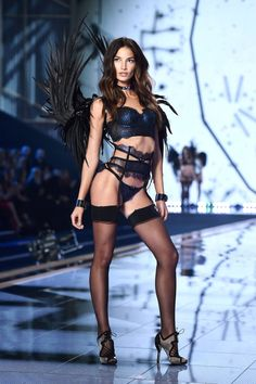 All the best looks from today's Victoria's Secret Fashion Show: Lily Aldridge