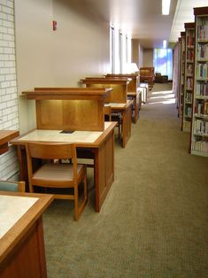 Library Furniture Design, Furniture Projects, Custom Furniture, Study Table Designs, Cherry Furniture, Computer Station, Industrial Office Design, Design Consultant, Public