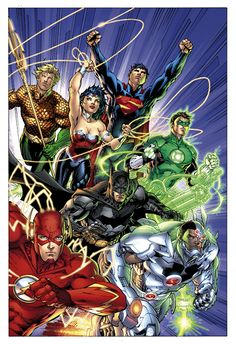 Justice League by Jim Lee, Scott Williams and Alex Sinclair
