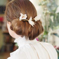 AYAKO | Sidonie Lemaitre accessoire cheveux mariée, mariage, romantique, fabriqué entièrement à la main