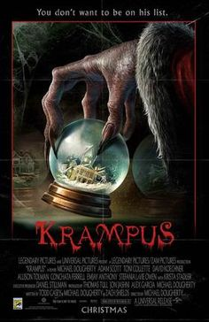 living read girl: Getting ready for a creepy Krampus Christmas at the movies
