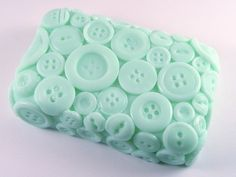 Soap...so cute in button pattern.