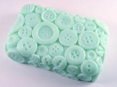 Soap...so cute in button pattern.
