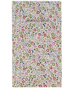 Fairford Floral Print Address Book, Liberty London. Shop more stationery from the latest Liberty London accessories collection online at Liberty.co.uk