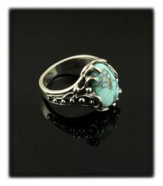 Boho Dry Creek Turquoise Ring