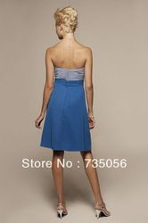 A-line Knee-length Chiffon Sweetheart Affordable Bridesmaid Dresses