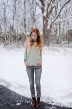 Ombre Knit.