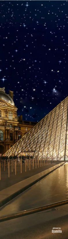 Louvre by Night, Paris