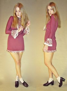 Vintage 60s Psychedelic FOLK Victorian Mod by LucyInDesguise, kr410.00