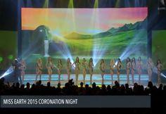 El Top 16 de Candidatas en Traje de Baño, en el Miss Earth 2015..