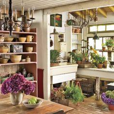 Garden room / a gardener's dream