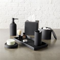 13 Ideas For Creating A More Manly Masculine Bathroom Matte