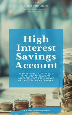 Saving For Retirement, Early Retirement, Investing Money, Saving Money, High Interest Savings Account, Wealth Creation, Make Money Fast, Finance Tips, Money Management