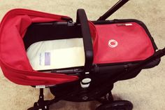 An outrageous, organic stroller liner and bassinet mattress that's now 50% off.