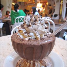 Serendipity NYC! I need to try a frozen hot chocolate one of these days.