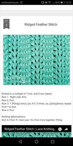 9 Tips for knitting – By Zazok Lace Knitting Stitches, Lace Knitting Patterns, Knitting Charts, Lace Patterns, Easy Knitting, Loom Knitting, Knitting Designs, Stitch Patterns, Crochet Feathers Free Pattern