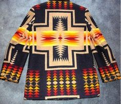 Dad bought me my first Pendleton coat, just like this one.  Now, its vintage and I can't fit it! lol