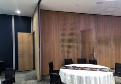 Project: Variflex® mobile acoustic partitions at Old Mutual Limited Sandton
