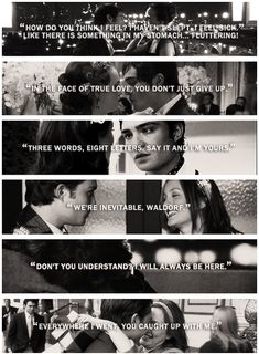 Gossip Girl. Blair and chuck <3 they are my favorite couple!! :)
