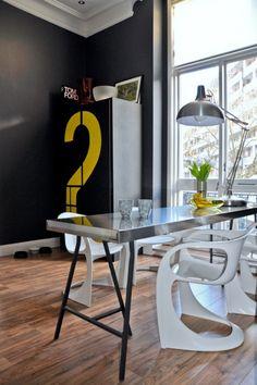 Bürofläche in Pop-Art und Art Deco London Wohnung 6 554 x 382