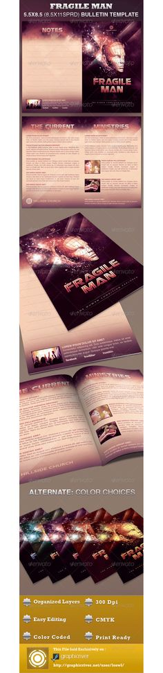 Church Bulletin Design print Pinterest Diseño y Blog - church bulletin template