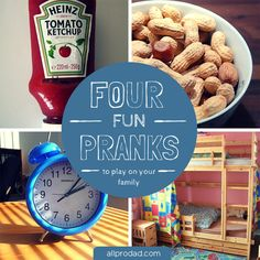 4 Fun Pranks to Play on Your Family | All Pro Dad