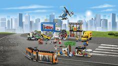 Lego City, City Square, March 2016