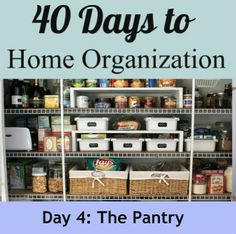 Kitchen Pantry Organization Free Printable Labels Are The