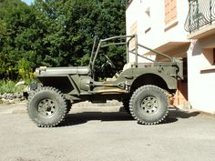 my 1963 flat fender Front and rear Detroit locker on Dana 27 and Dana 44 Cj Jeep, Jeep Truck, Jeep Willys, Military Jeep, Military Vehicles, Jeep Humor, Rc Crawler, Cool Jeeps, Go Kart