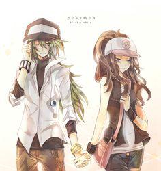 N & Hilda   Pokemon