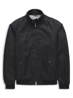 Duke Street Foundry Harrington Jacket | Jet Black | Ben Sherman