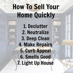 I can't stress enough. Full closets and cluttered counters portray insufficient storage space to buyers.