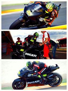 Cql on ducati bike motogp