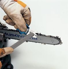 How to Sharpen a Chainsaw - Bob Vila