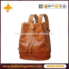 6d1e920e4b4e 2017 Popular new men leather backpack outdoor leather bags men